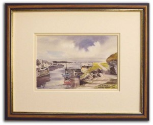 "Martin Goode Framed Size A Print 12 x 9.5 "" (305 x 240mm)"